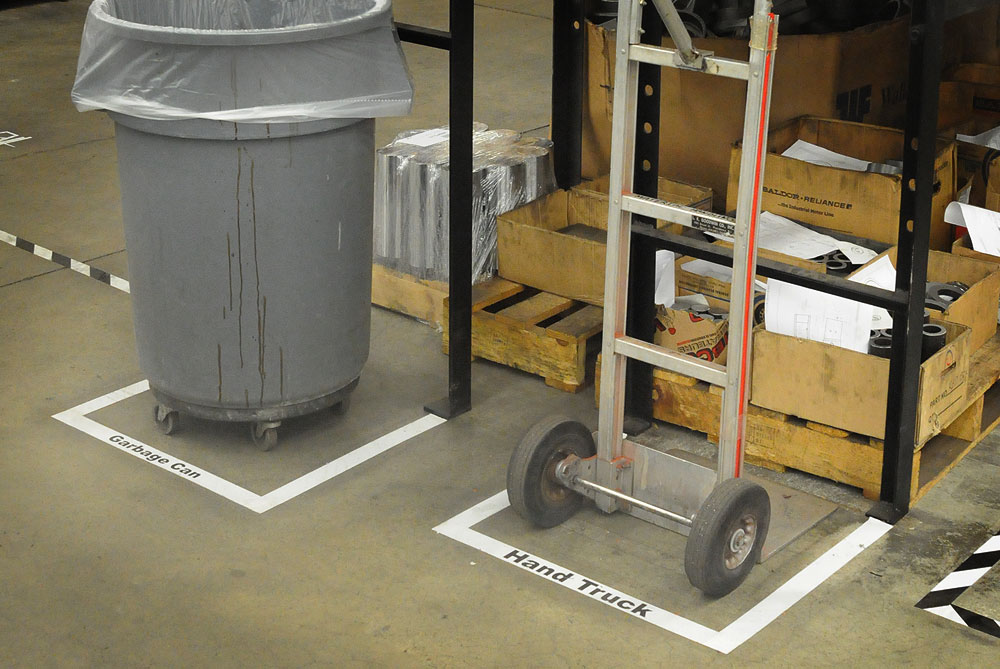 VIBCO Lean Floor Marking