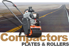 Vibco Plate Compactors and Vibratory Rollers