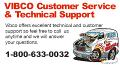 Vibco customer support
