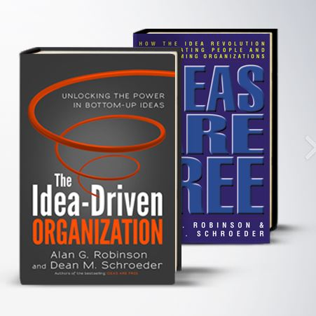 ideas are free the idea driven organization