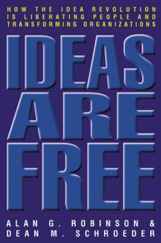 ideas are free front cover dean schroeder