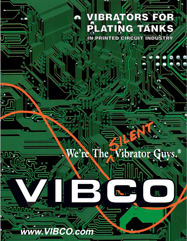 plating tank vibrator catalog for circuit and electroplating industry vibco