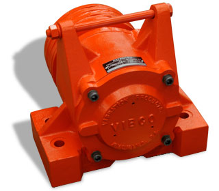 Hydraulic vibrator flow valves