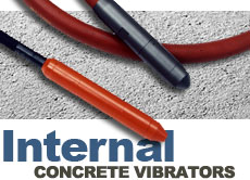 Vibco Internal Concrete Vibrators