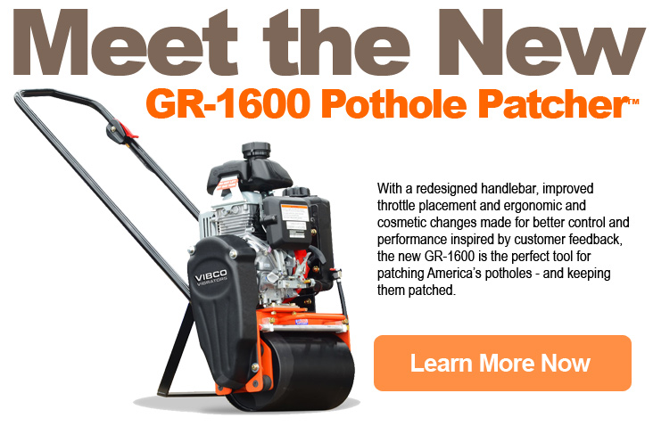 Single drum vibratory rollers meet-the-new-pothole-patcher-1.5 vibco vibrators