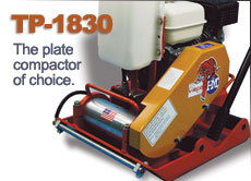 Vibco TP-1830 plate compactor